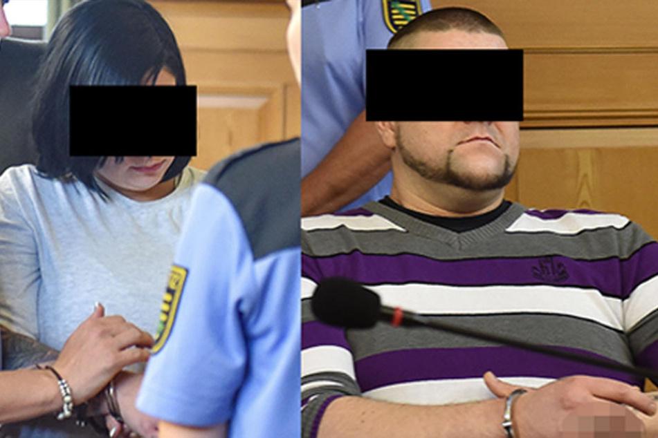 Stephan K. (33) und Anne-Kathrin H. (24) haben den grausamen Mord an ihrem Bekannten gestanden.