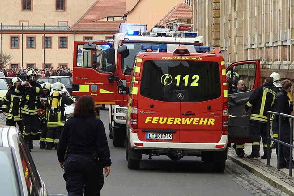 Gut 450 Personen mussten nach der Reizgasattacke evakuiert werden.