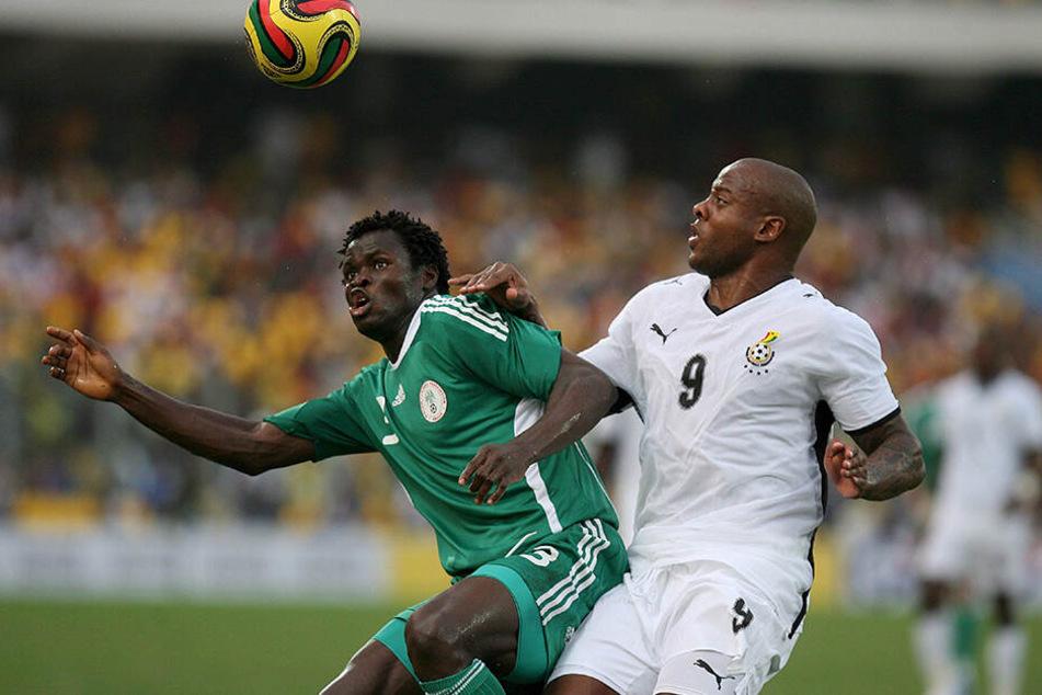 Beim Africa-Cup 2008 schoss er mit einem Tor die ghanaische Nationalmannschaft gegen Nigeria ins Halbfinale.