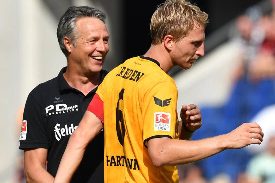 Trainer Uwe Neuhaus wird seinen Schützling sicher nur ungern ziehen lassen.