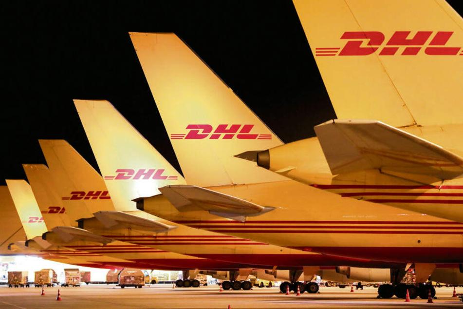 Das Wachstum ist vor allem bedingt durch DHL. Der Logistikkonzern hat hier sein Drehkreuz.