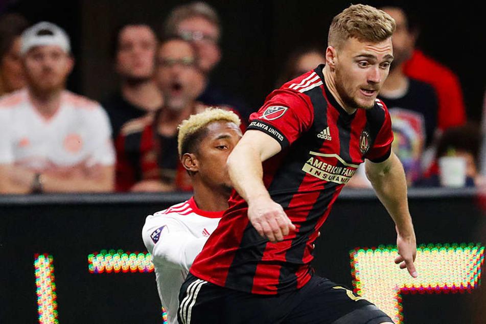 Steht mit seinem deutschen Teamkollegen Kevin Kratz im Meisterschaftsfinale der Major League Soccer: Publikumsliebling Julian Gressel.