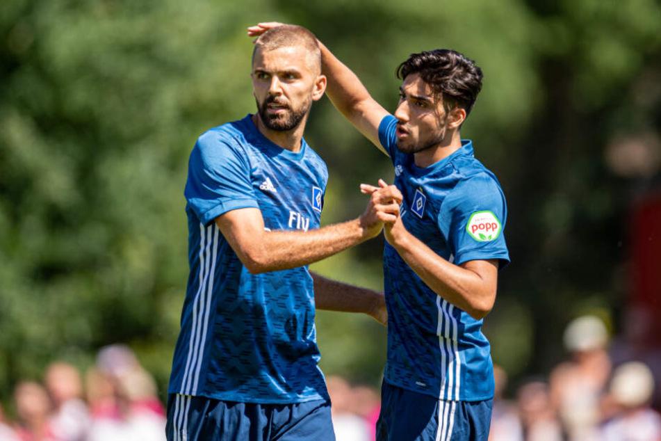 In der bisherigen Saison könnte sich Berkay Özcan (rechts) in der Vorbereitung zeigen.