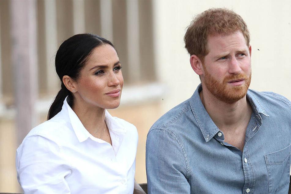 Herzogin Meghan (37) und ihr Gatte Prinz Harry (34).