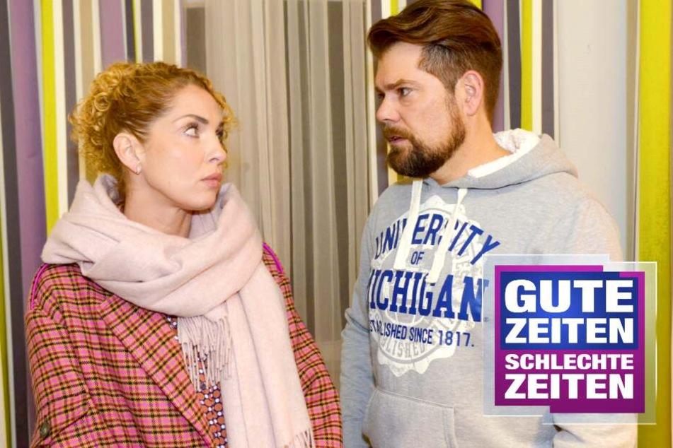 Verbotene Liebe bei GZSZ: Leon und Nina haben wieder Sex!