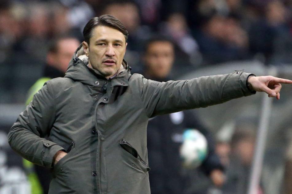 Niko Kovac war nach der Niederlage enttäuscht, aber nicht unzufrieden.