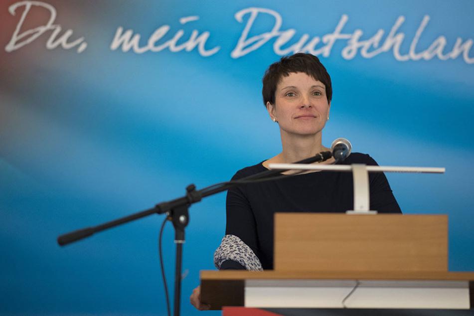 Frauke Petry wurde erneut von ihren AfD-Mitgliedern düpiert.