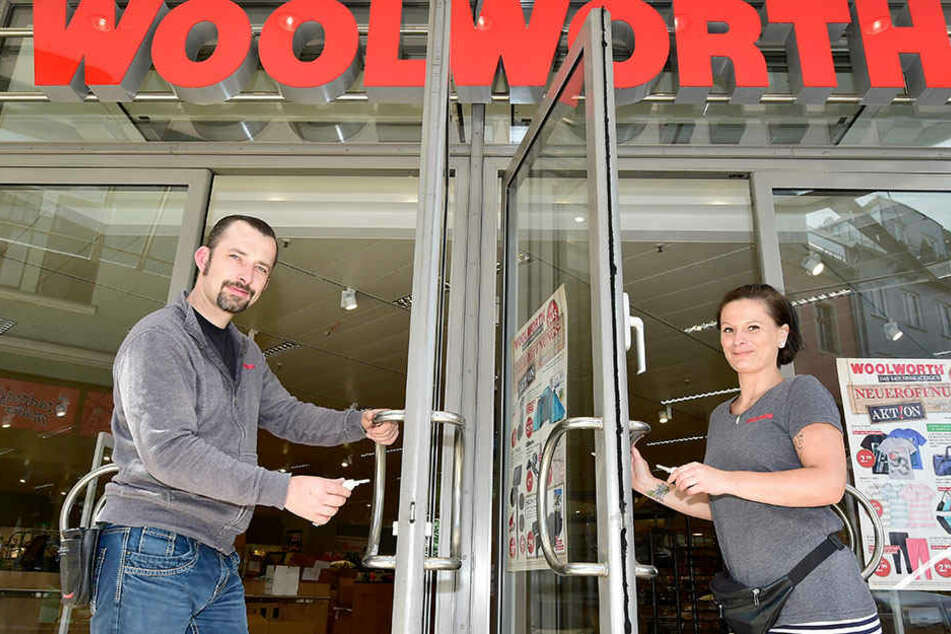 Riesen-Kaufhaus! Heute eröffnet Woolworth in Zwickau