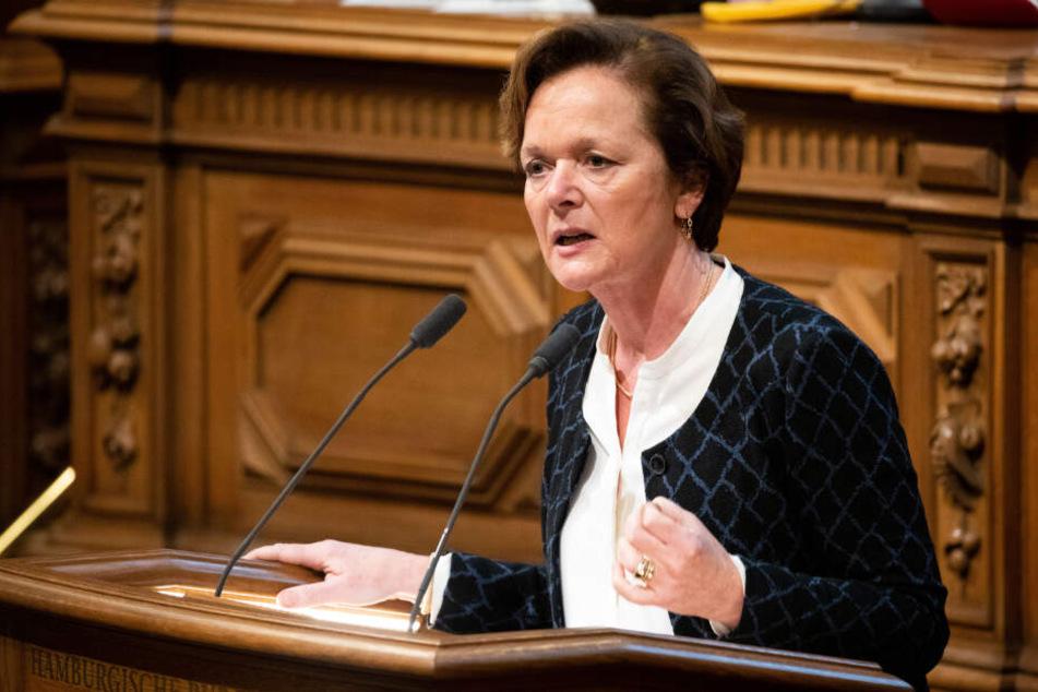 Seit 2011 ist Anna von Treuenfels Mitglied der Hamburgischen Bürgerschaft. (Archivbild)