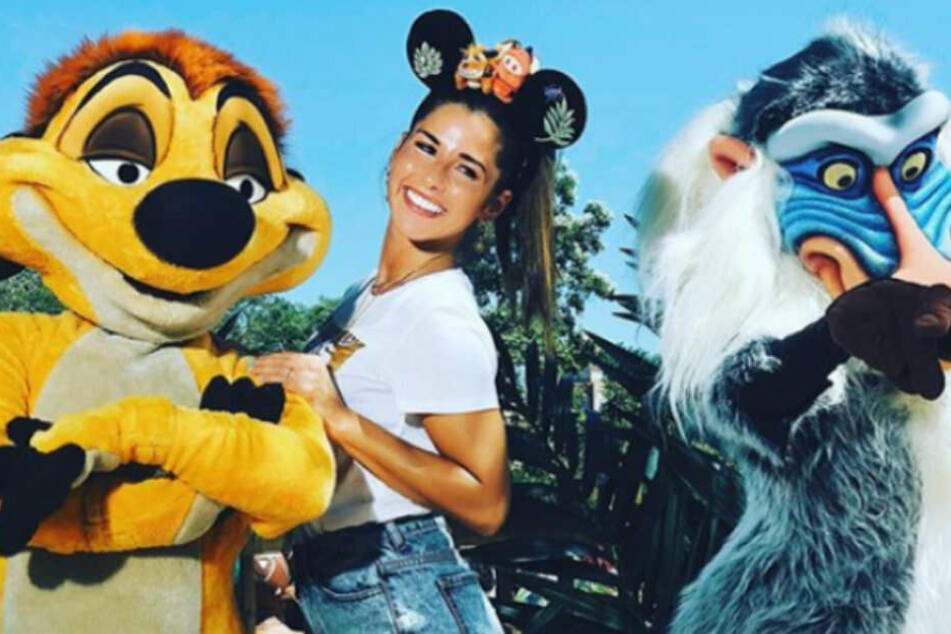 Disneyprinzessin Sarah.
