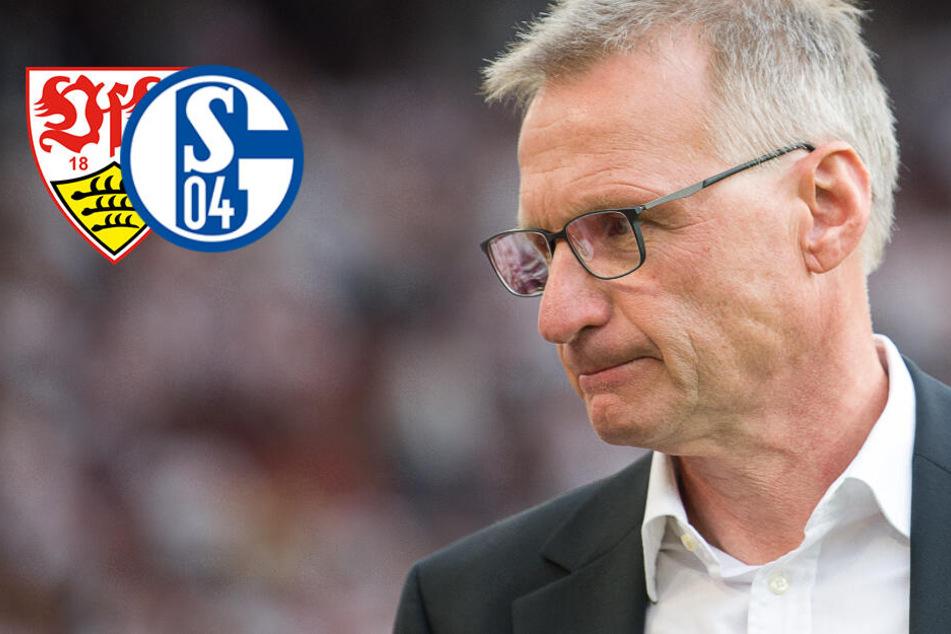 Beim VfB gescheitert: Jetzt heuert Reschke wohl bei Schalke 04 an