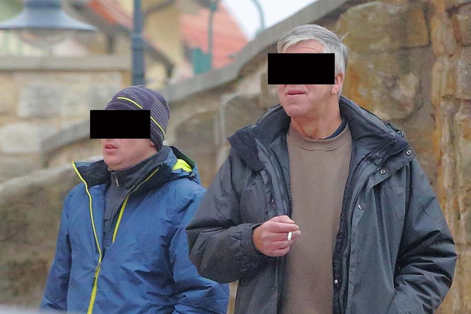 Machten in Drogen und landeten vor Gericht: Senior Reinhard S. (60) und und sein Spross Maik (35).