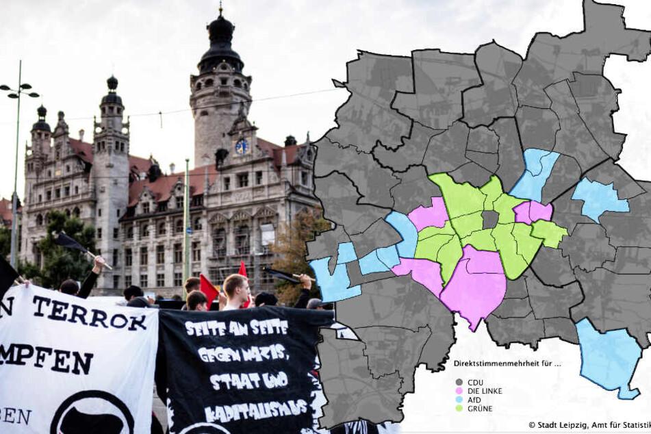 Landtagswahl Sachsen: So hat Leipzig gewählt