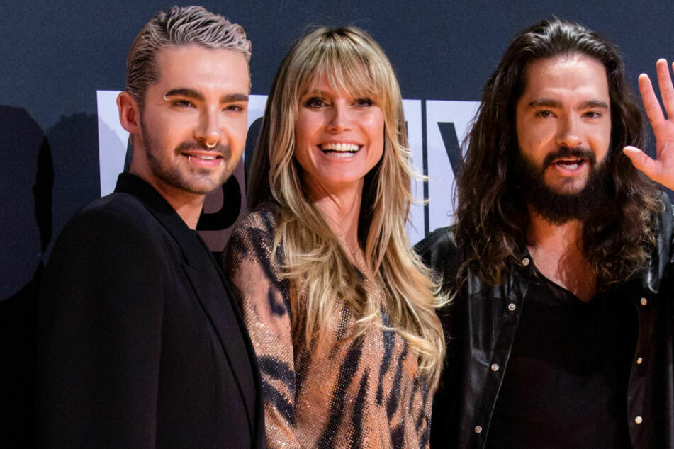 "Heidi Klum bejubelt Tokio Hotel bei ""Late Night Berlin"""
