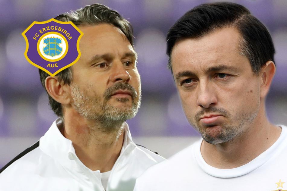 Aue gegen Braunschweig: Brisantes Trainer-Duell