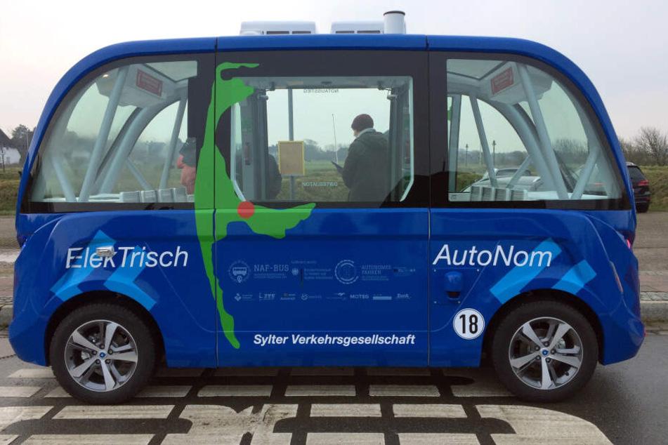 Autonomer Bus auf Sylt: Projekt wird ausgeweitet
