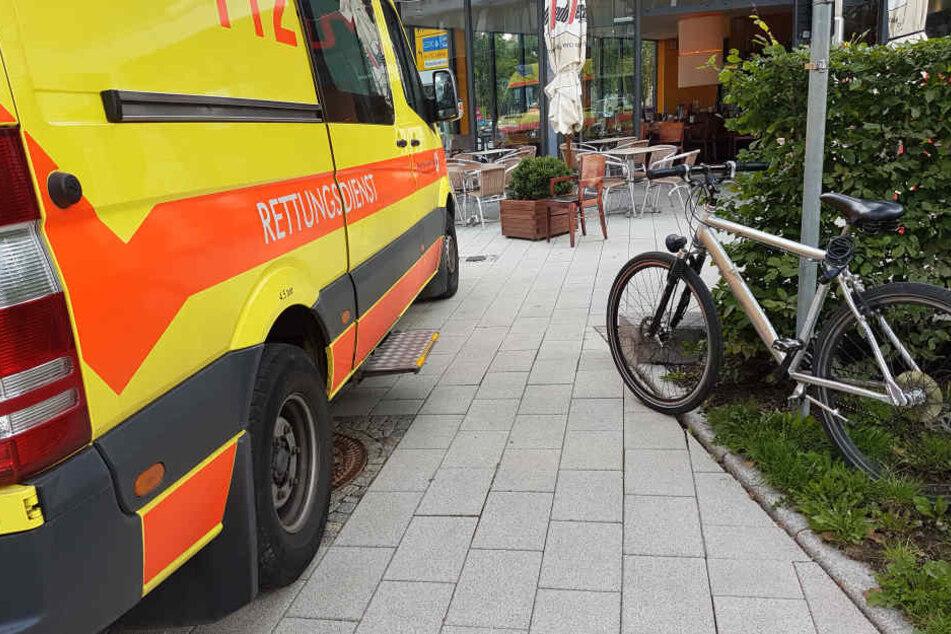 Fahrrad-Crash in Innenstadt: Ein Verletzter