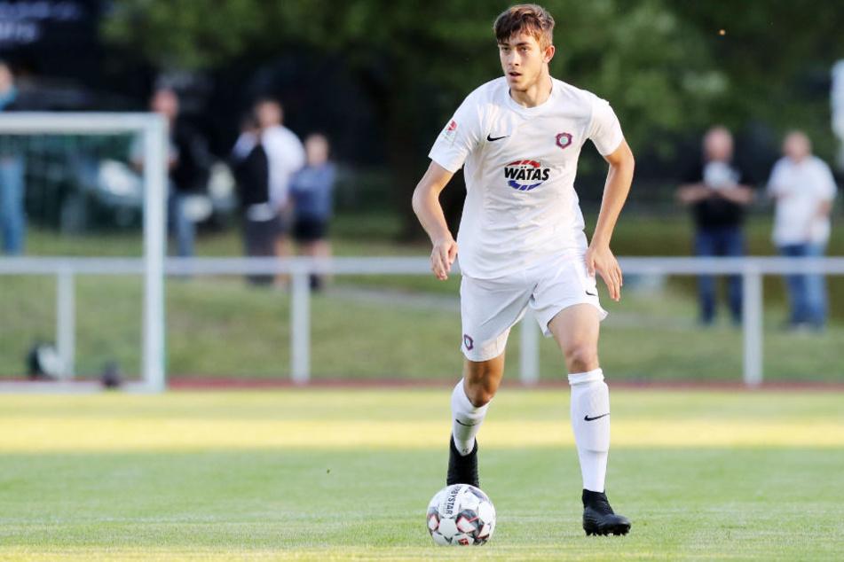 Youngster Niklas Jeck ist das größte Auer Talent und könnte schon bald den Sprung zu den Profis schaffen.
