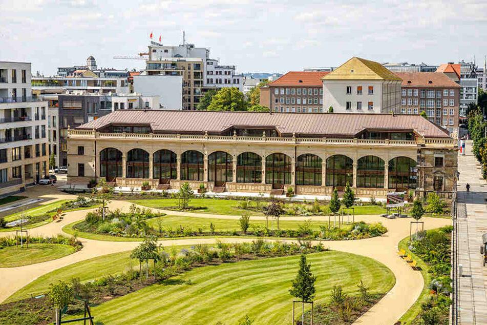 Der Herzogin Garten wurde nach historischem Vorbild wieder hergerichtet.