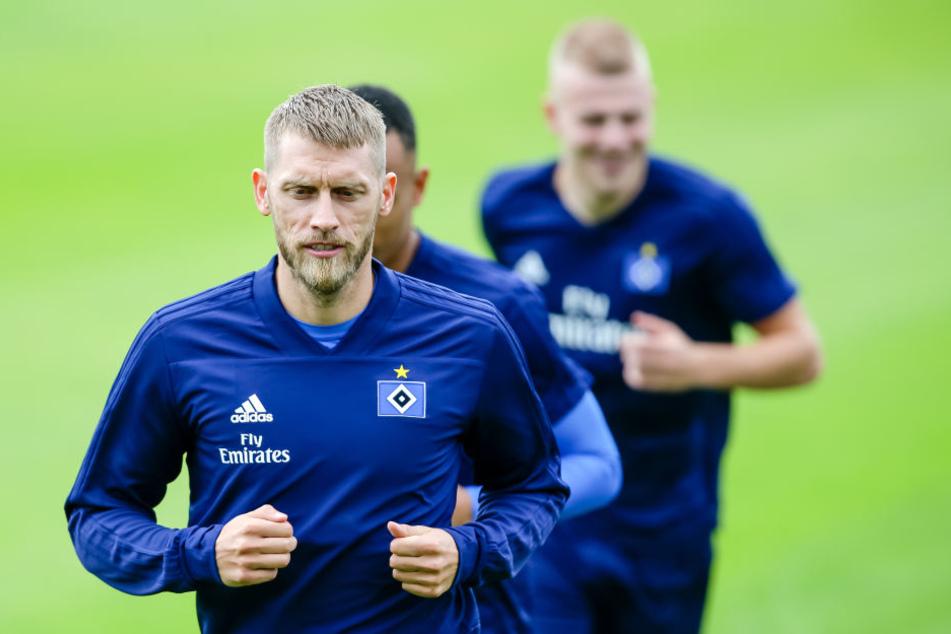 Am Sonntag trifft der HSV auf den SV Sandhausen. Ob Aaron Hunt dann wieder dabei ist?