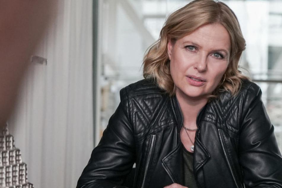 """Katharina Böhm (53): """"Es heißt zwar 'Die Chefin', aber die Serie ist eindeutig eine Teamleistung."""""""