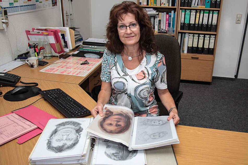 Steffi Burrath (56) hat beim FBI gelernt, wie man aus einem Schädel Phantombilder rekonstruiert.