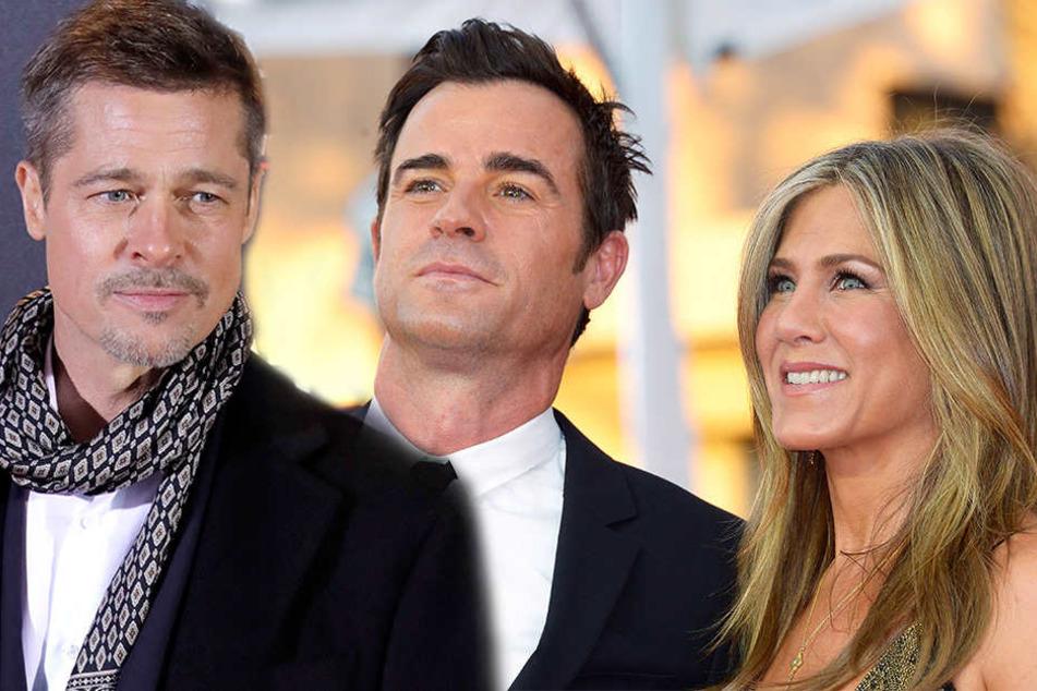 Verlässt Jennifer Aniston ihren Ehe-Mann für Brad Pitt?