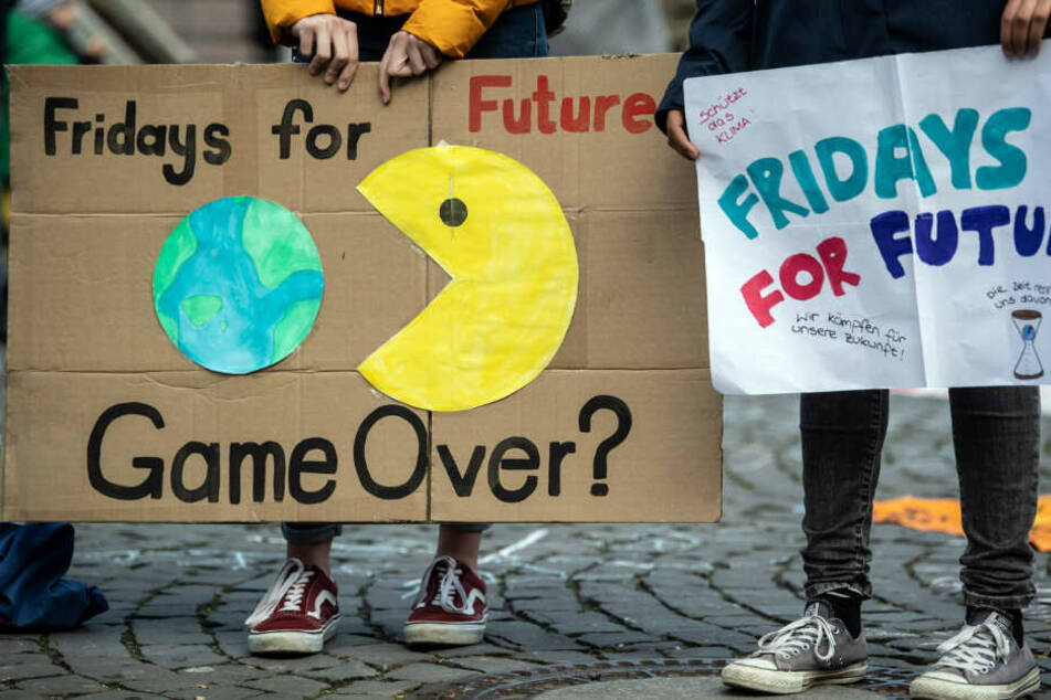"""Fridays for Future""-Demo in Köln."