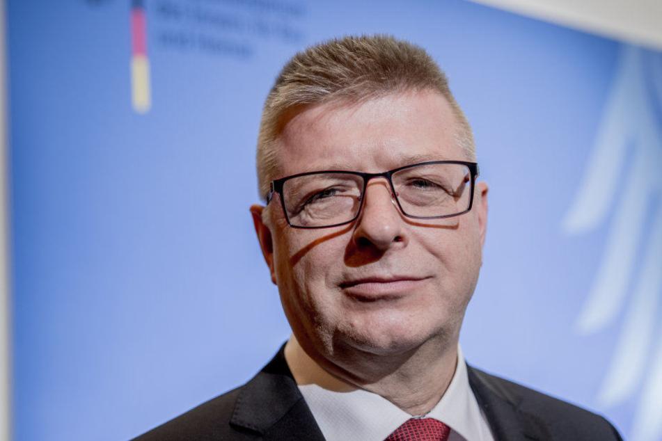 Haldenwang war zuvor der Vizepräsident des Verfassungsschutz.
