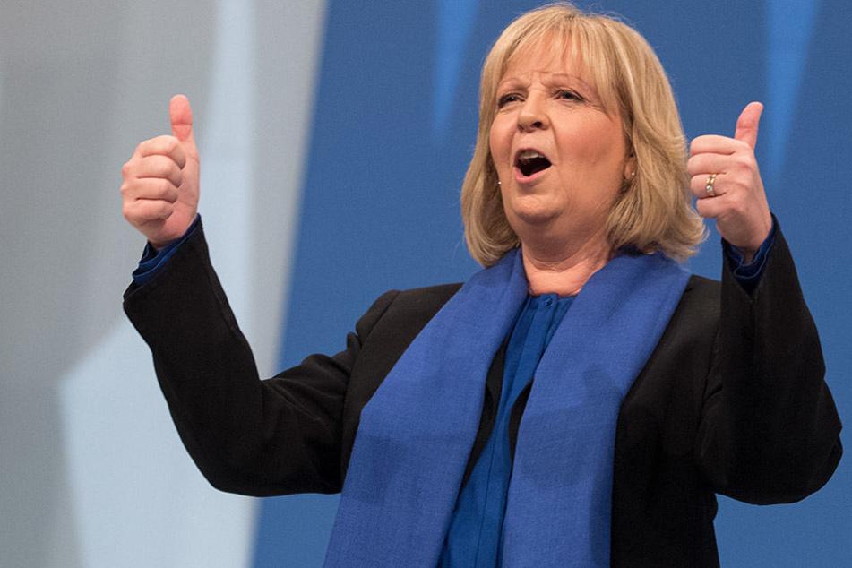 Spitzenkandidatin: Hannelore Kraft (55) soll am 14. Mai erneut für die SPD gewinnen.
