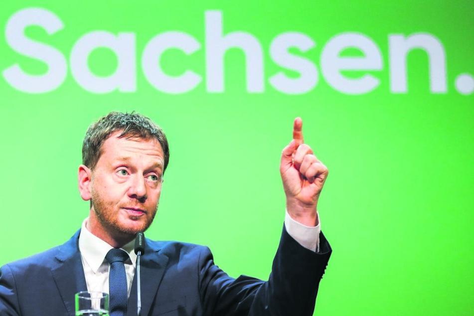 Der neue politische Stil von Ministerpräsident Michael Kretschmer (43, CDU) verleihe der CDU neuen Schwung, findet die Partei.