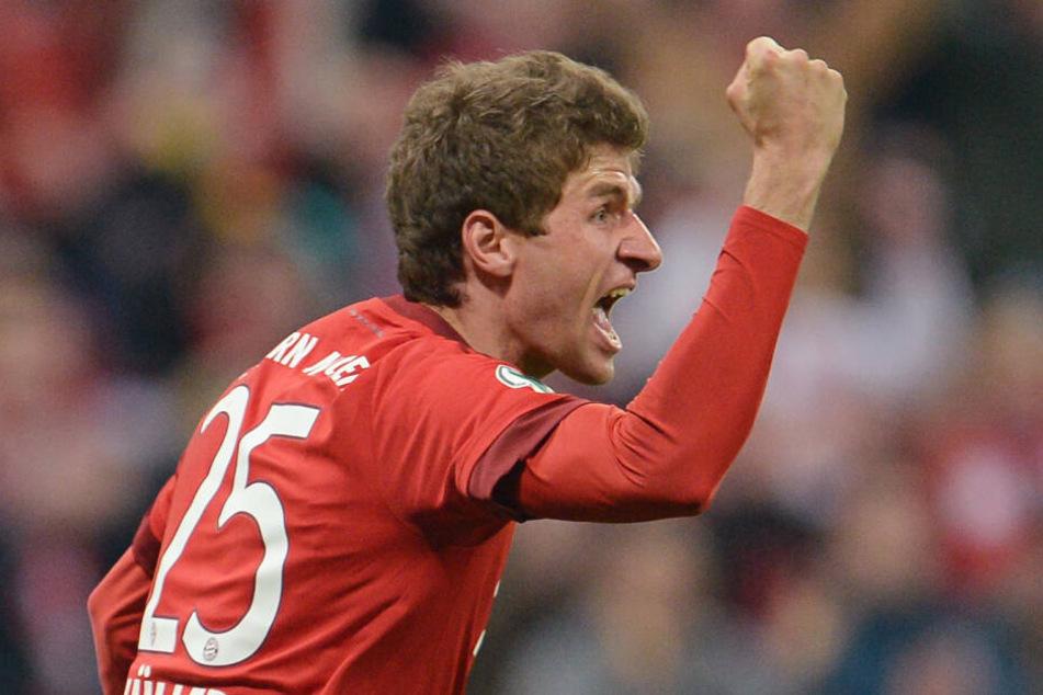 Thomas Müller hat für sein Nationalmannschaft-Aus kein Verständnis. (Archivbild)