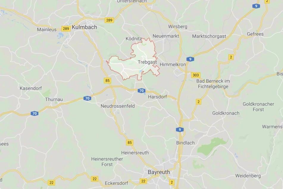 In einem Badesee in Trebgast im Landkreis Kulmbach in Bayern hat eine Frau eine Leiche entdeckt.