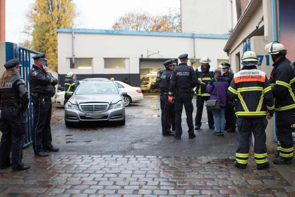 In einer Werkstatt in Hamburg ereignete sich ein tödlicher Arbeitsunfall.