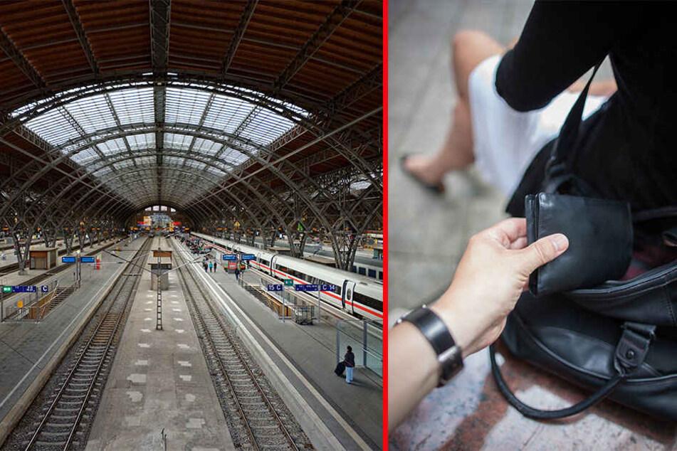 Taschendiebe sind treiben gehäuft an Bahnhöfen ihr Unwesen. Über die Feiertage werden in Leipzig etliche Besucher erwartet- gefundenes Fressen für die Langfinger.