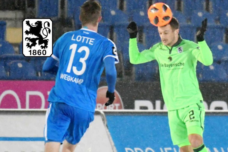 Erst Blitzstart, dann eiskalt erwischt: TSV 1860 München spielt in Lotte nur remis