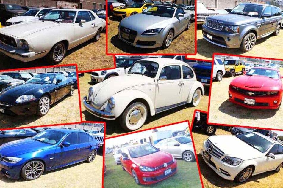 Irre Auktion: Autos von Drogenbossen kommen unter den Hammer!