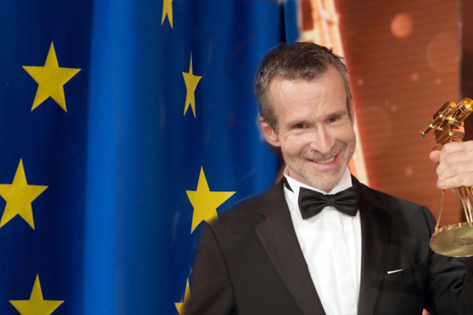 """Ulrich Matthes (60) wünscht sich die """"Vereinigten Staaten von Europa"""". (Bildmontage)"""