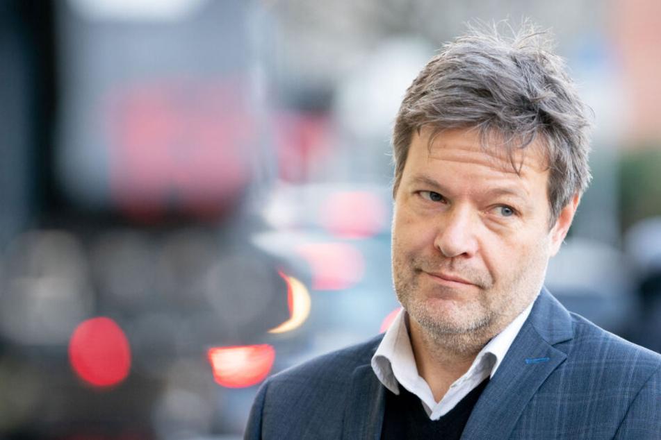 Robert Habeck appellierte an die CDU, nicht den AfD-Kandidaten zu wählen.
