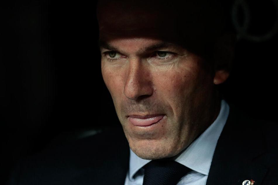 Will seinen Fixpunkt Toni Kroos gerne in Madrid behalten: Zinedine Zidane.