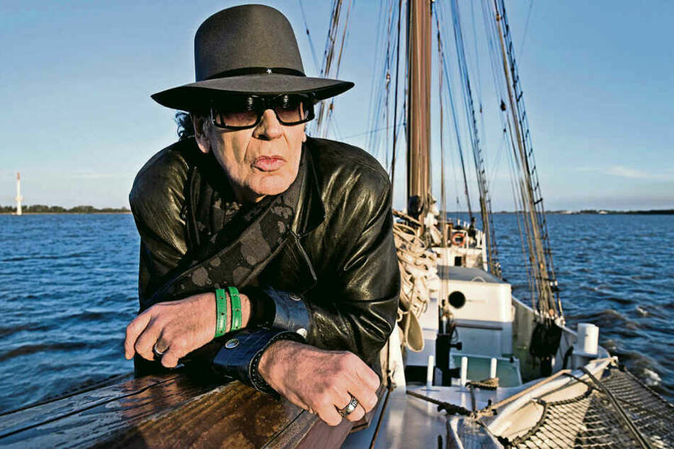 Volle Fahrt voraus: Udo Lindenberg (72) zieht's in der MDR-Doku raus auf den Atlantik.