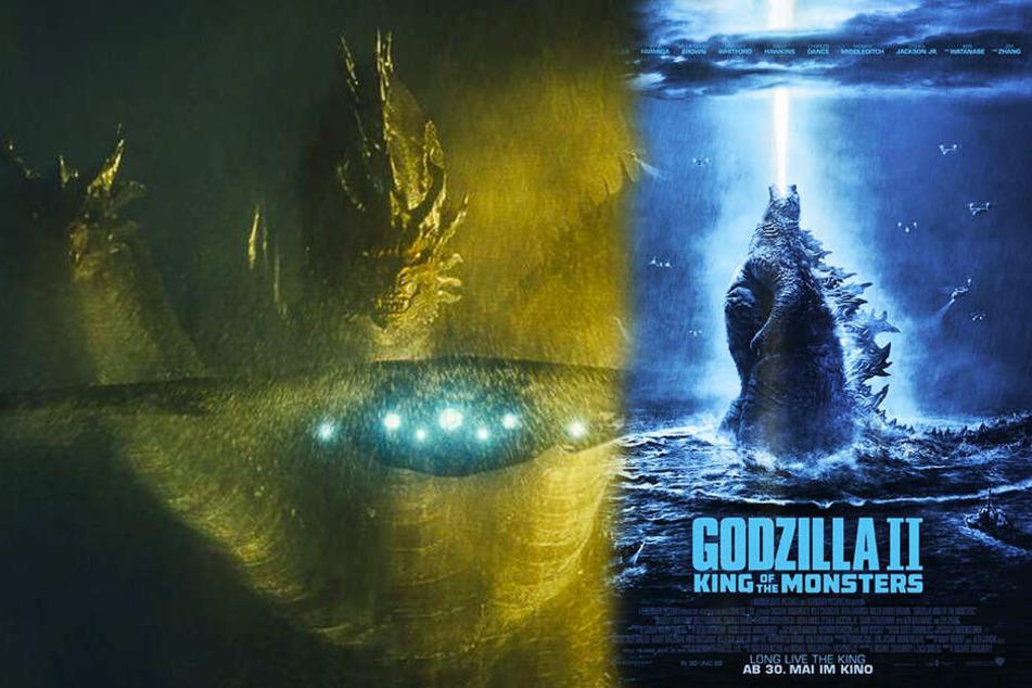 """Heftige Kämpfe! Titanen zerstören in """"Godzilla II: King of Monsters"""" ganze Städte!"""