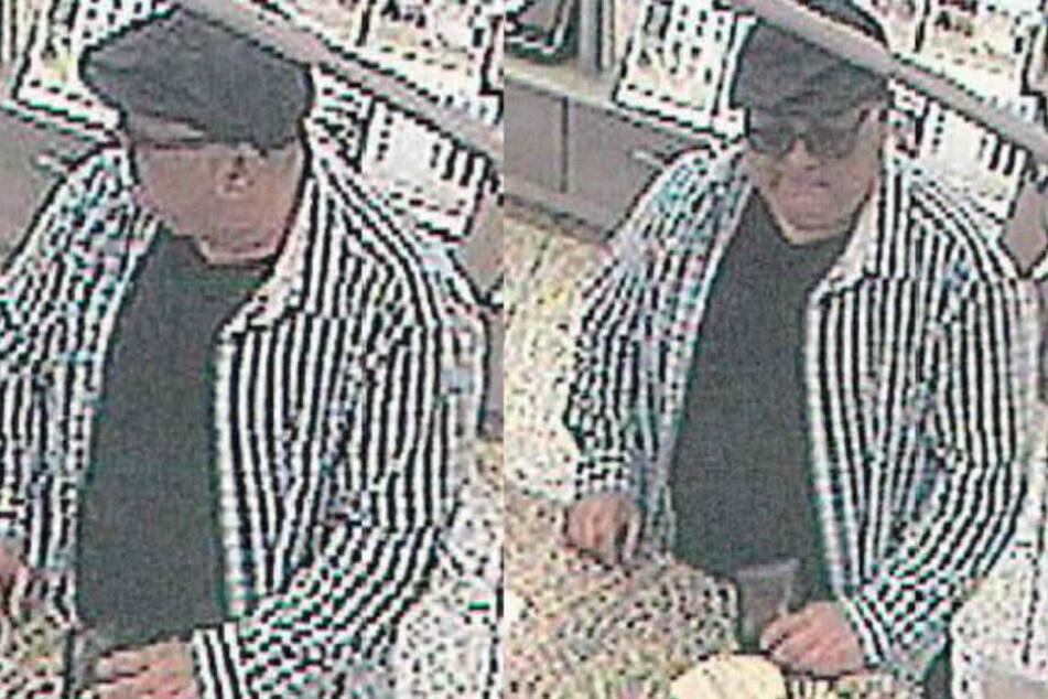 Er klaute Rentnerin EC-Karte, dann ging er einkaufen: Polizei sucht diesen Mann