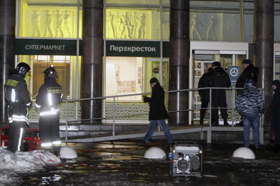 In einem russischen Einkaufszentrum ist am Mittwochabend eine Bombe explodiert.