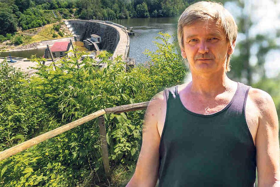 Chemnitz: Der Held von Kriebstein: Er rettete Touris vor dem Sturz in den Tod