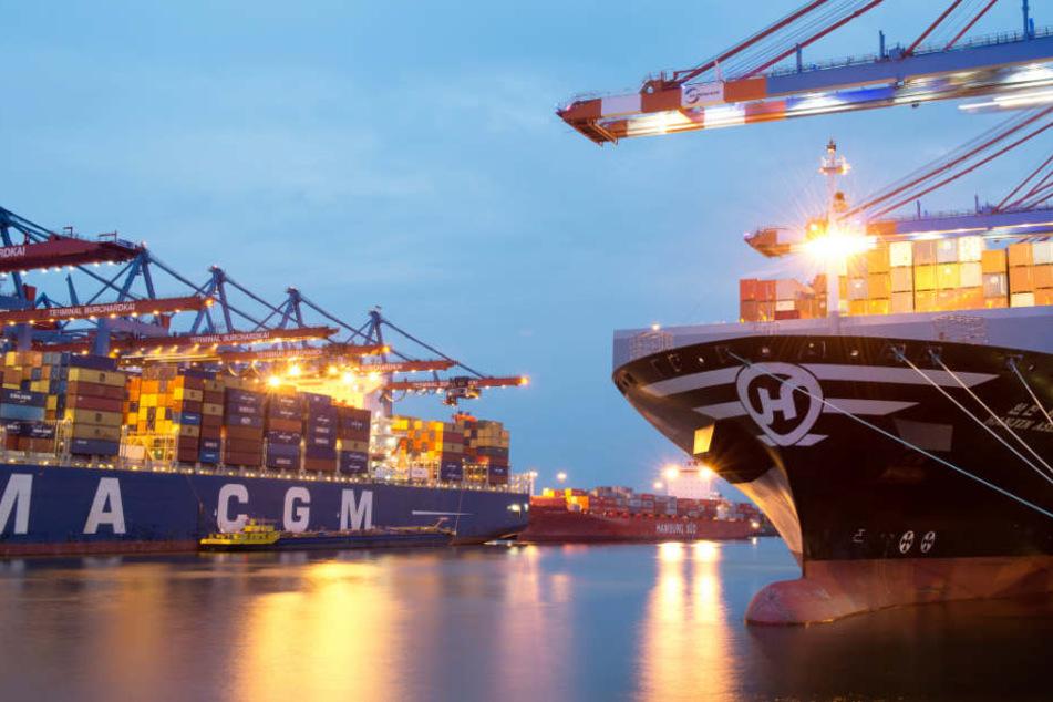 Die Mafia wickelt ihren Drogenhandel über den Hamburger Hafen ab (Symbolfoto).
