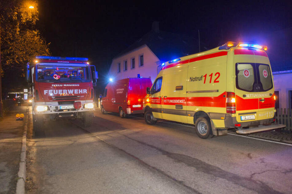 Im Ortsteil Cranzahl brannte am Dienstagabend ein Kinderwagen in einem Hausflur.