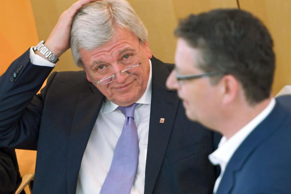 Zum Haare raufen: Die CDU und Ministerpräsident Volker Bouffier verlieren 8,3 Prozent.