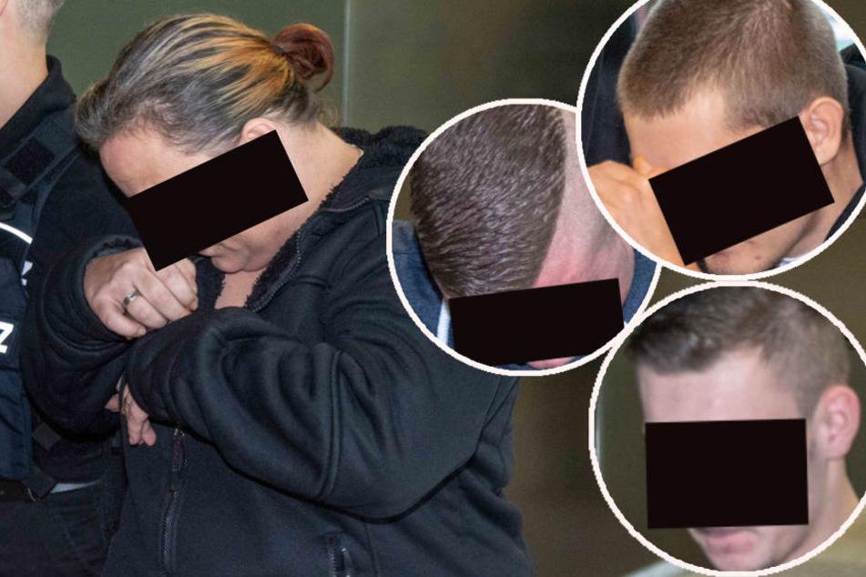 Gegen das Quartett wurden Haftstrafen zwischen vier und achteinhalb Jahren verhängt.
