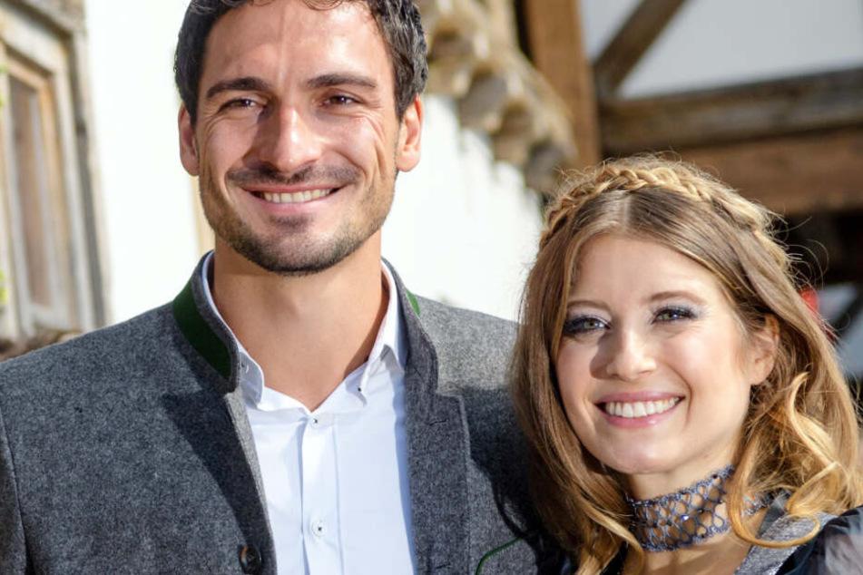 Cathy Hummels ist seit 2015 mit Mats Hummels vom FC Bayern München verheiratet. (Archivbild)